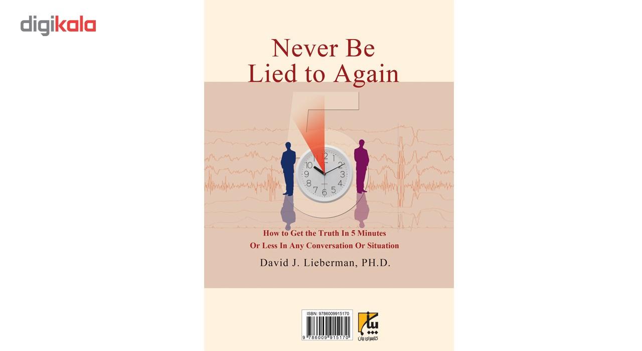 کتاب تشخیص دروغ در کمتر از پنج دقیقه اثر دیوید جی.لیبرمن main 1 2