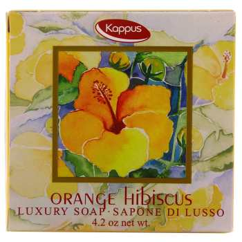 صابون کاپوس مدل Orange Hibiscus مقدار 125 گرم