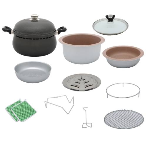 سرویس پخت و پز 13 پارچه غذاپز همه کاره ناخ مدل NMC-1326
