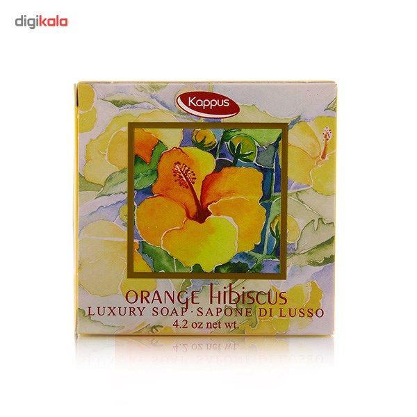 صابون کاپوس مدل Orange Hibiscus مقدار 125 گرم main 1 1