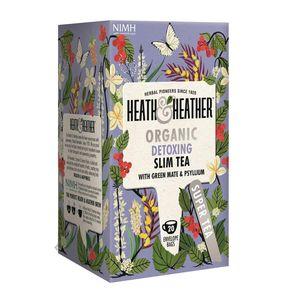 بسته دمنوش هیت و هیتر مدل Organic Detaxing Slim Tea