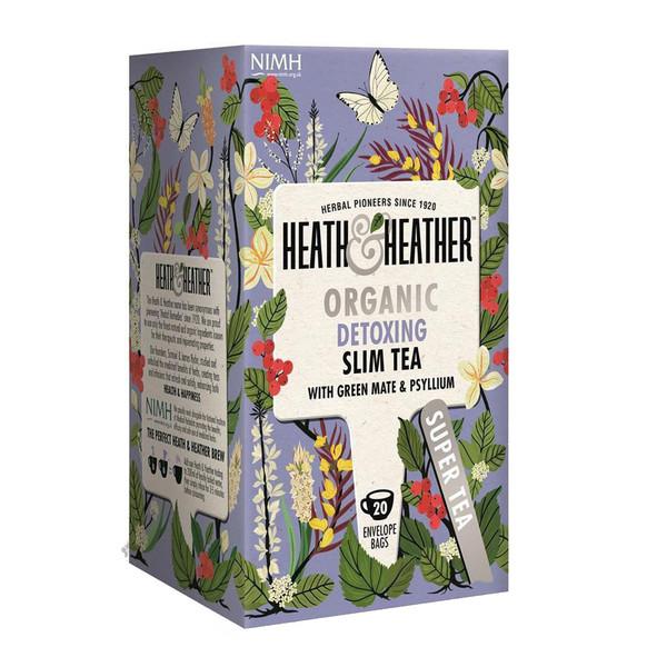 بسته دمنوش هیت و هیتر مدل Detaxing Slim Tea