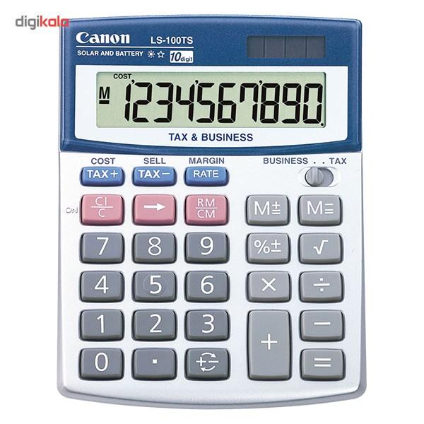 قیمت                      ماشین حساب کانن مدل  LS-100TS