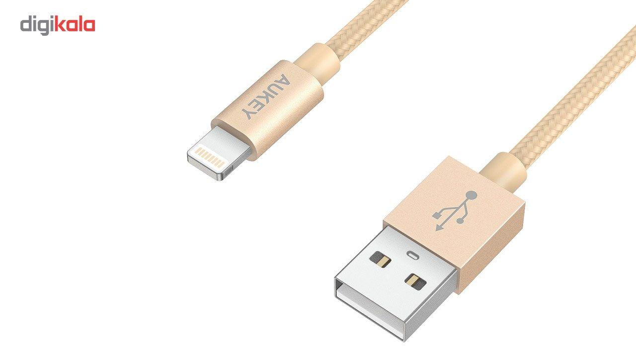 کابل تبدیل USB به لایتنینگ آکی مدل CB-D16 طول 1.2 متر main 1 5