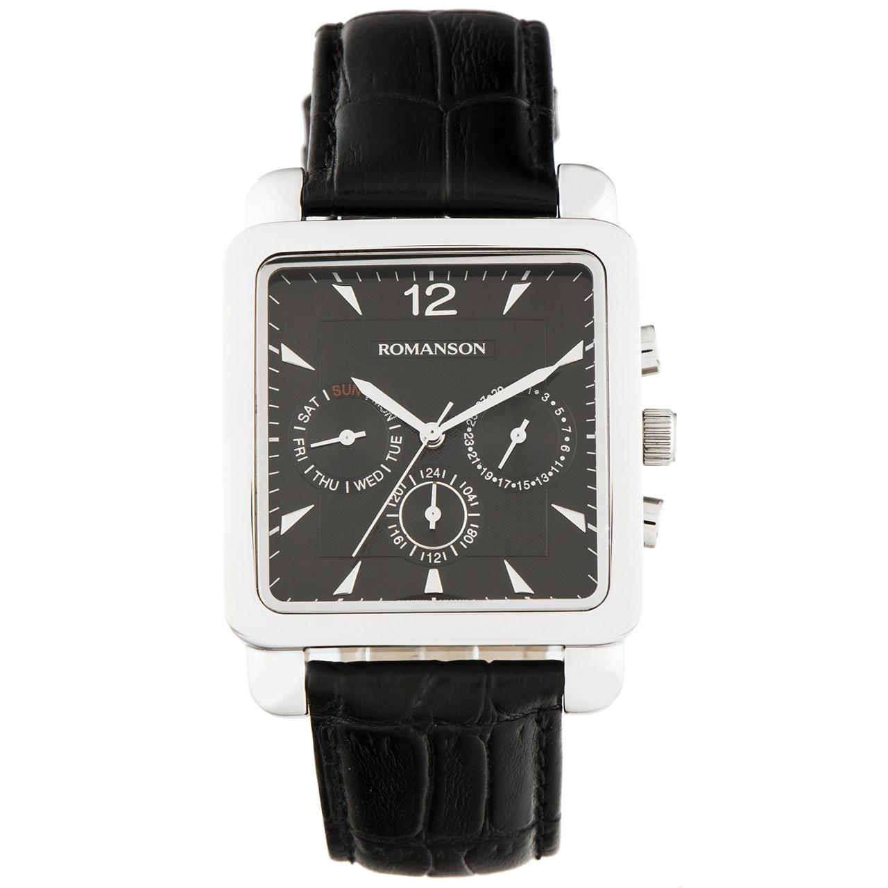 ساعت مچی عقربه ای مردانه رومانسون مدل TL9244MM1WA32W 13