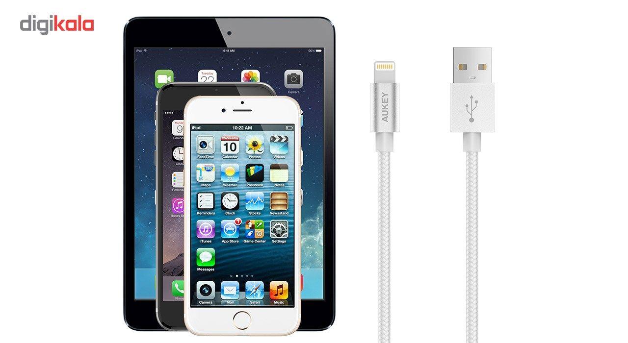 کابل تبدیل USB به لایتنینگ آکی مدل CB-D16 طول 1.2 متر main 1 14
