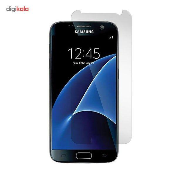 محافظ صفحه نمایش شیشه ای مدل Tempered مناسب برای گوشی موبایل سامسونگ Galaxy S7 main 1 1