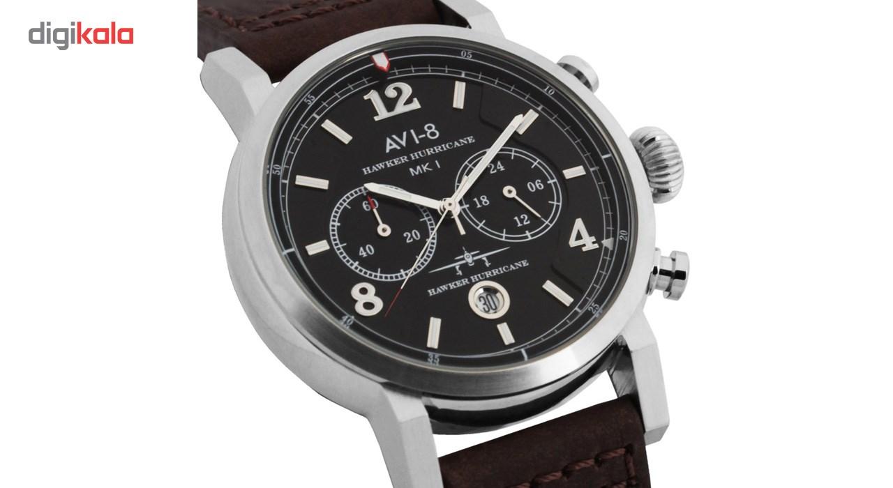 ساعت مچی عقربه ای مردانه ای وی-8 مدل AV-4015-02
