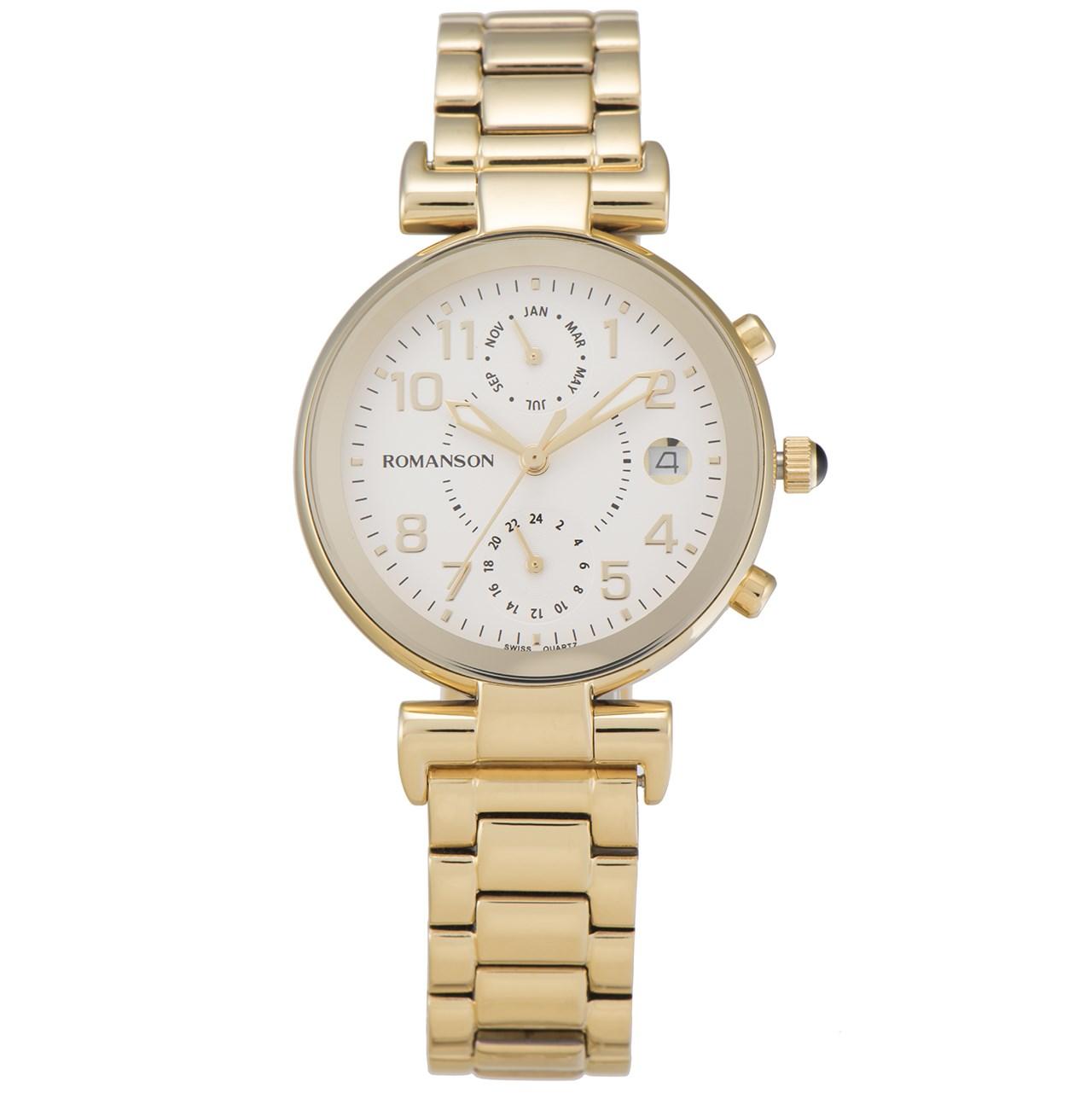 ساعت مچی عقربه ای زنانه رومانسون مدل RM4211FL1GA11G 37