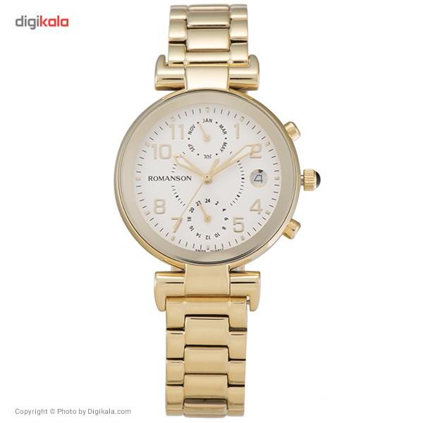 ساعت مچی عقربه ای زنانه رومانسون مدل RM4211FL1GA11G
