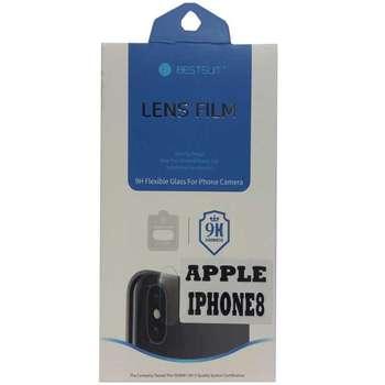 محافظ لنز دوربین بست سوئیت مدل 9H مناسب برای گوشی موبایل آیفون 8