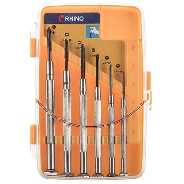 مجموعه 6 عددی پیچ گوشتی ساعتی رینو مدل RPT-350