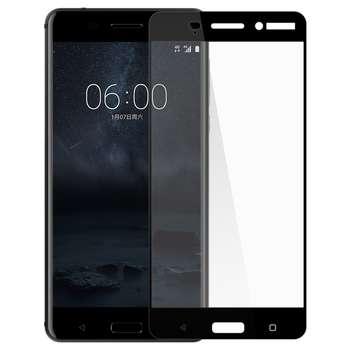محافظ صفحه نمایش تمپرد مدل فول چسب مناسب برای گوشی موبایل نوکیا 6