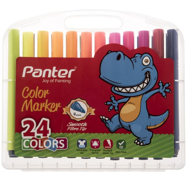 ماژیک رنگ آمیزی 24 رنگ پنتر