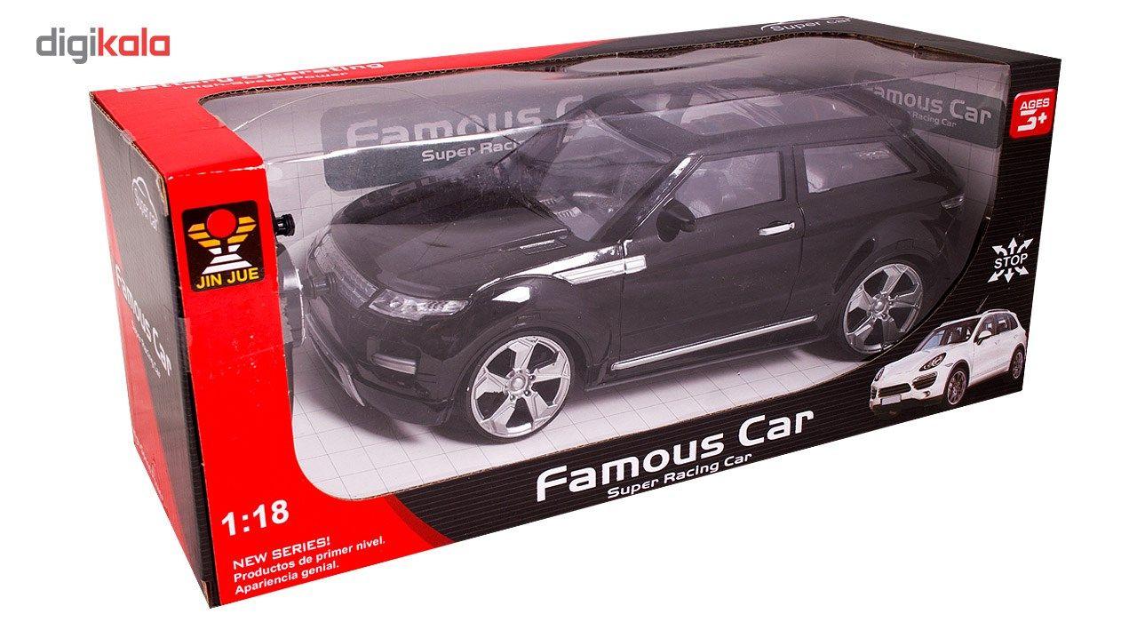 ماشین کنترلی مدل Famous Car لندروور main 1 4