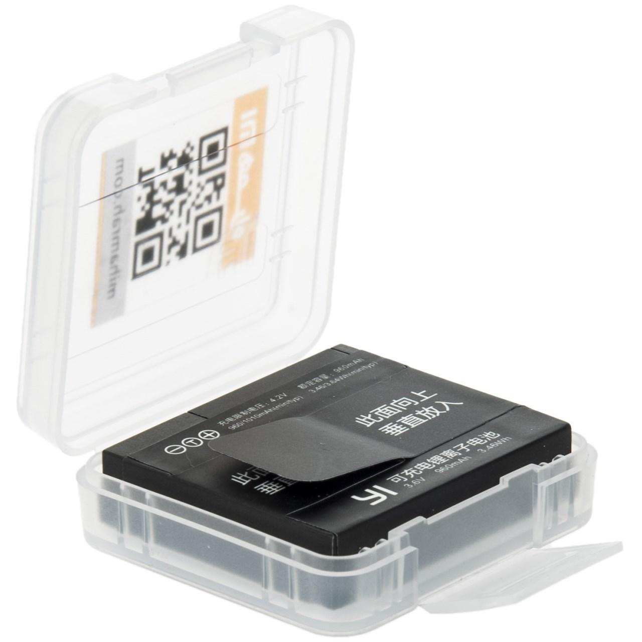 باتری دوربین ورزشی شیاومی مدل Yi ظرفیت 960 میلی آمپر ساعت