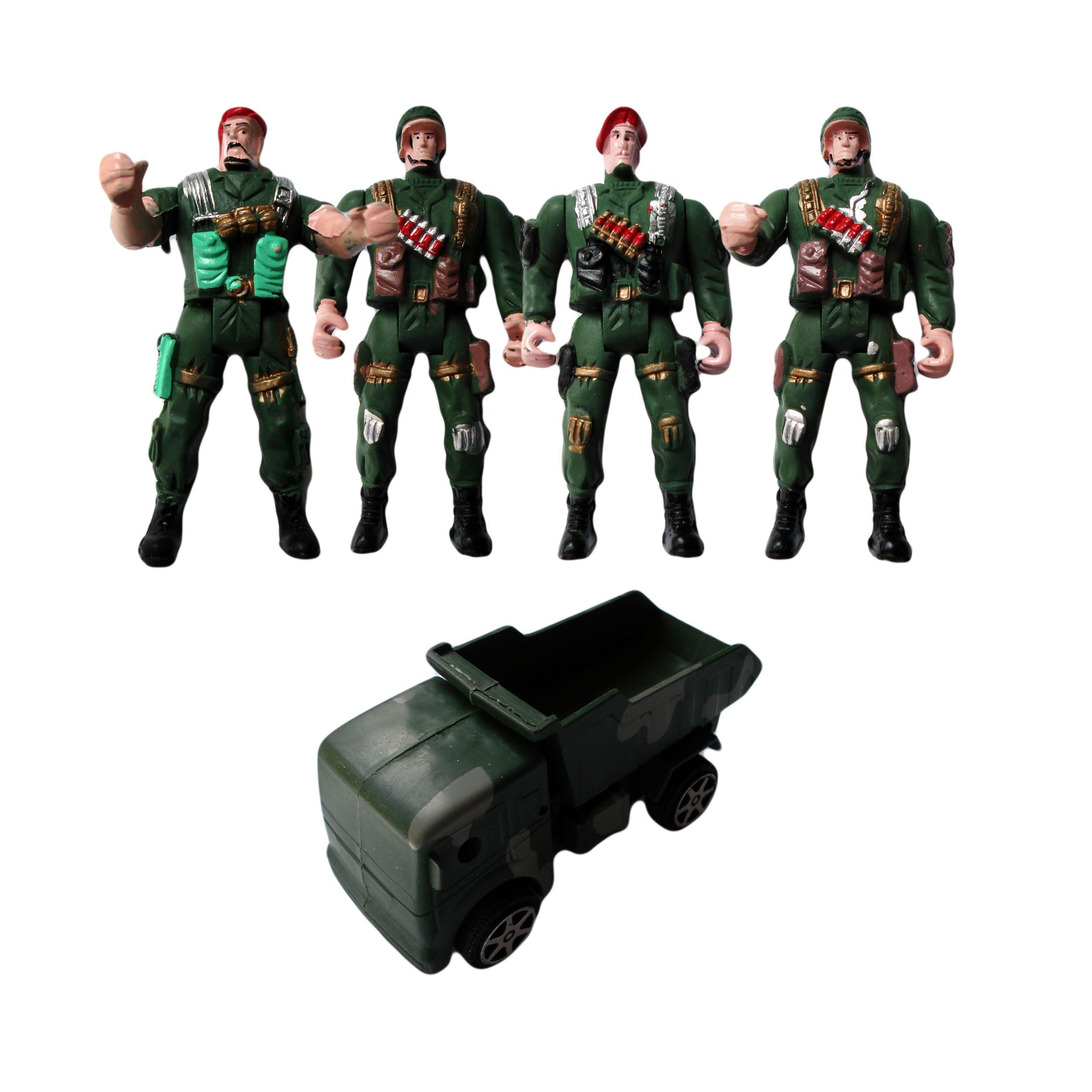 اسباب بازی جنگی مدل GP-90 مجموعه 5 عددی