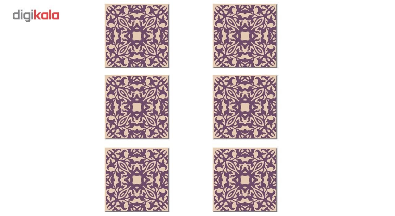 زیر لیوانی آکو کد Z164 بسته 6 عددی