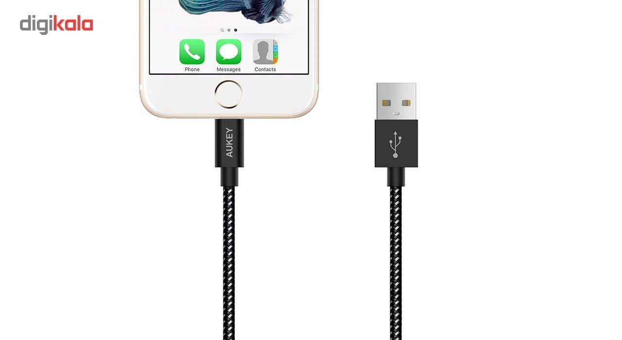 کابل تبدیل USB به لایتنینگ آکی مدل CB-D16 طول 1.2 متر main 1 18