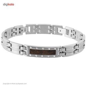 دستبند الیور وبر مدل Coco Steel Crystal 67004