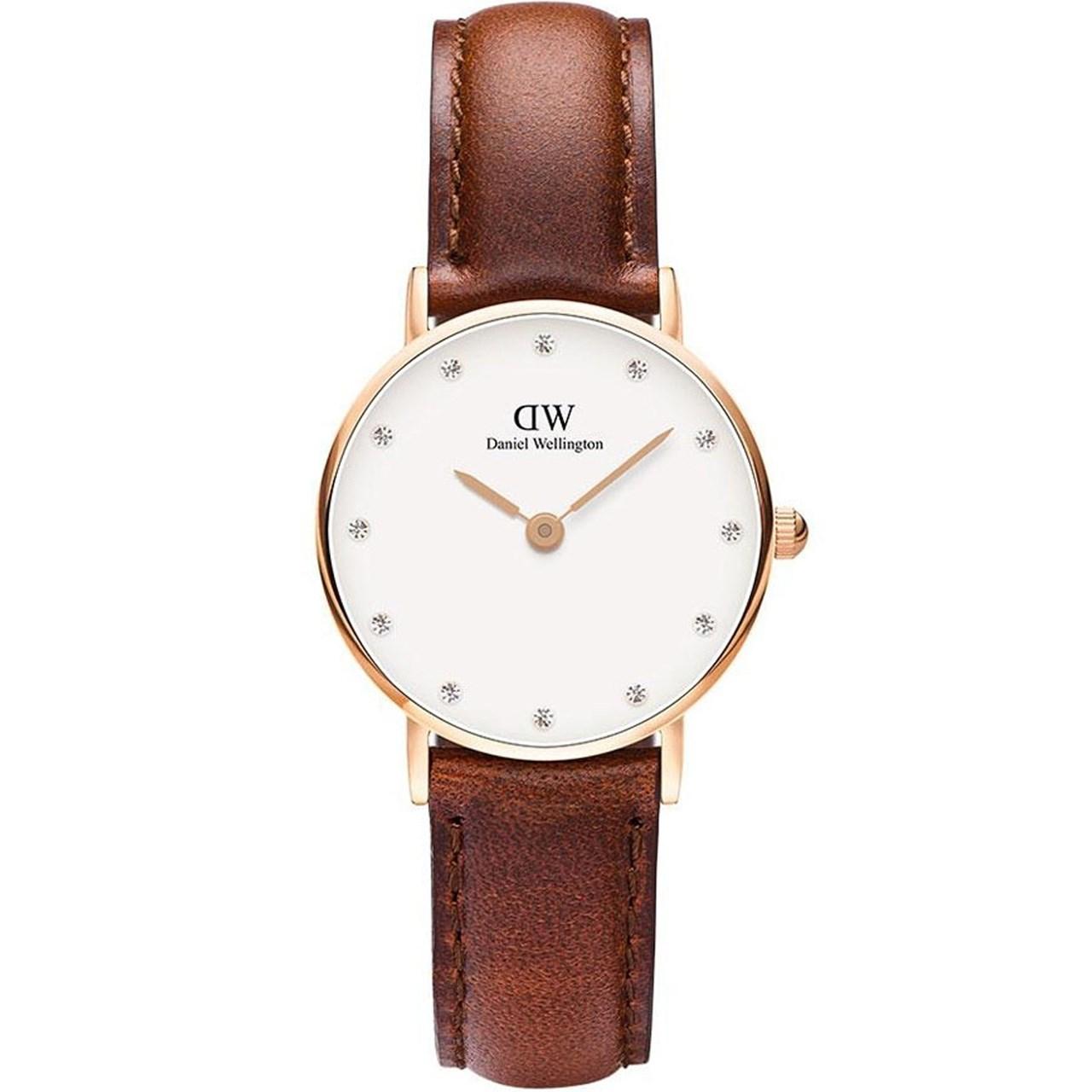 ساعت مچی عقربه ای زنانه دنیل ولینگتون مدل DW00100059