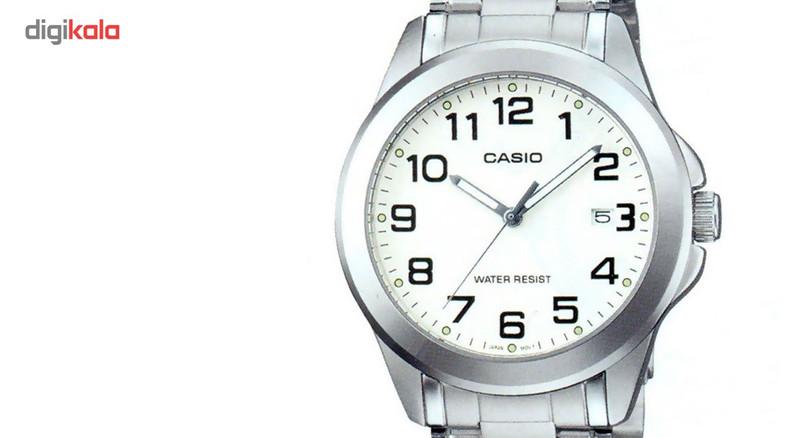 ساعت مچی عقربه ای مردانه کاسیو مدل MTP-1215A-7B2DF