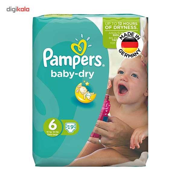 پوشک پمپرز مدل Baby Dry سایز 6 بسته 19 عددی main 1 1