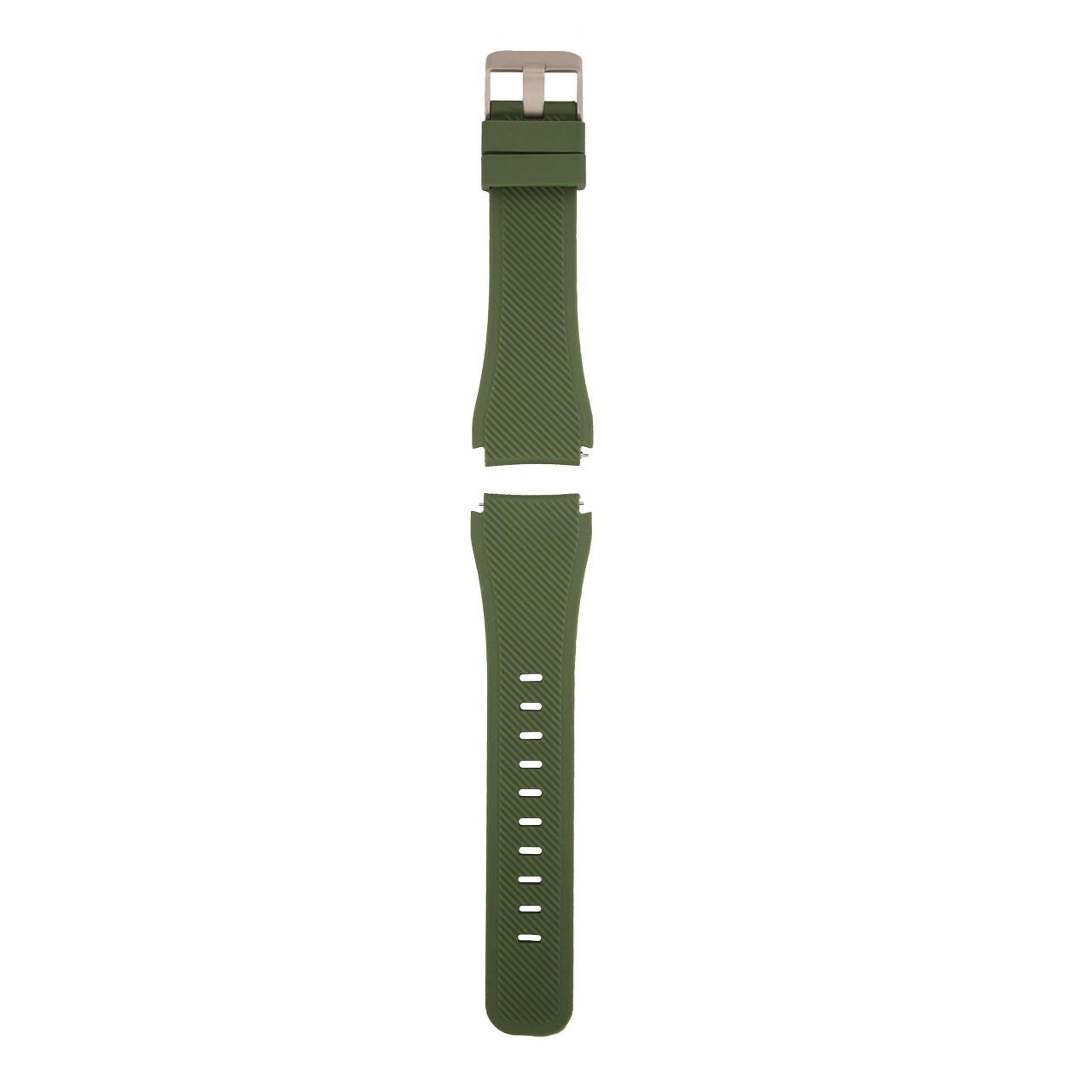 بند سیلیکونی سامسونگ مدل Fasion Style مناسب برای Gear S3