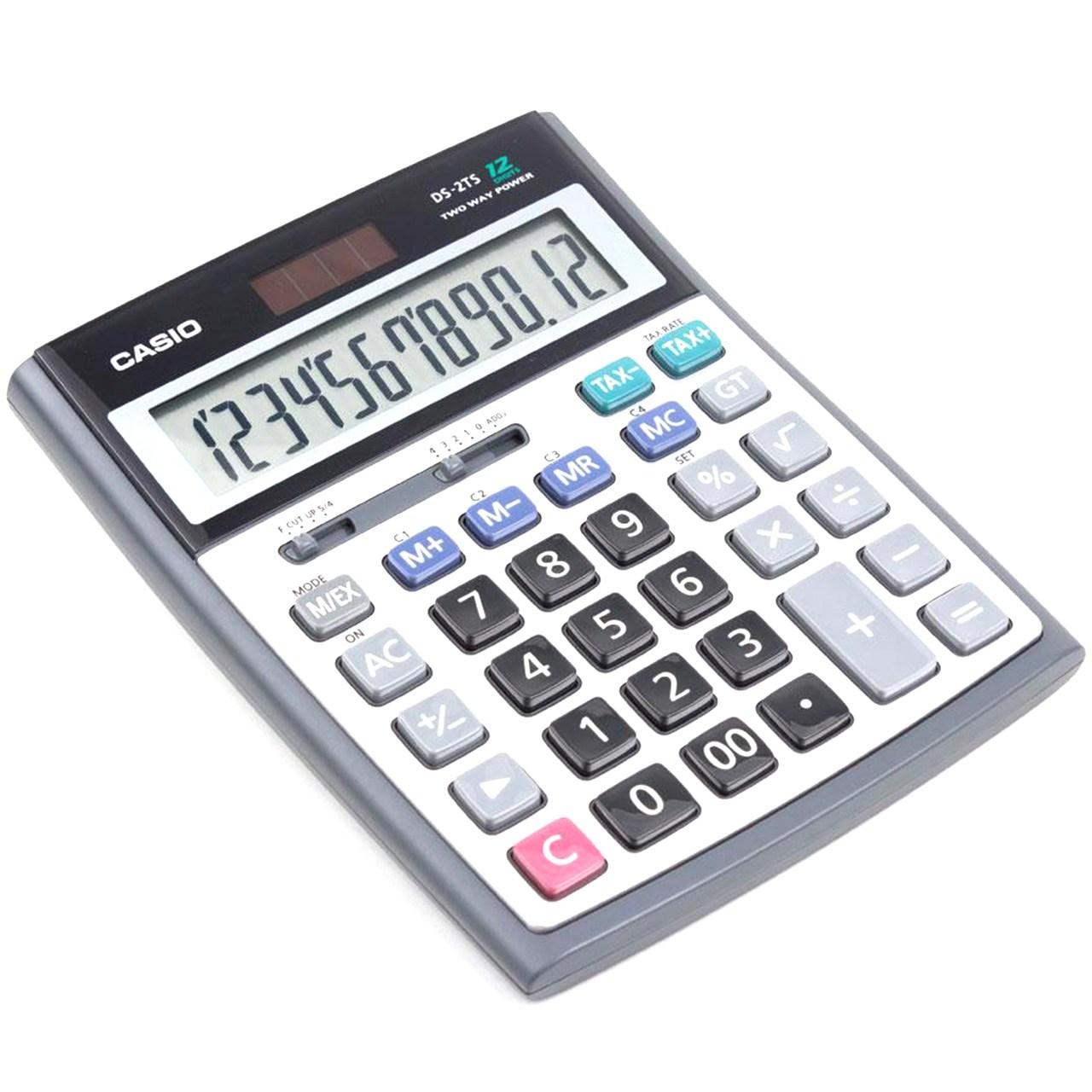 قیمت                      ماشین حساب کاسیو مدل DS-2TS