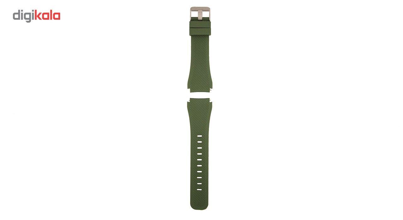 بند سیلیکونی سامسونگ مدل Fasion Style مناسب برای Gear S3 main 1 1