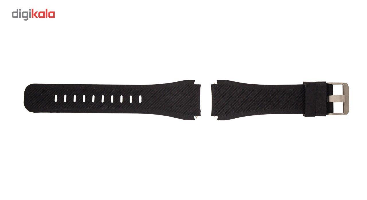 بند سیلیکونی سامسونگ مدل Fasion Style مناسب برای Gear S3 main 1 2