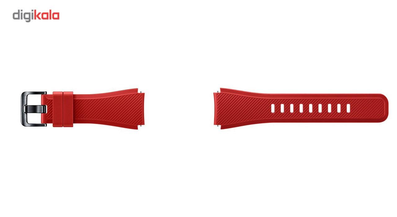 بند سیلیکونی سامسونگ مدل Fasion Style مناسب برای Gear S3 main 1 3