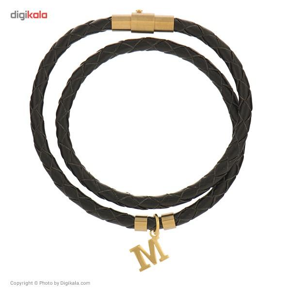دستبند طلا 18 عیار رزا مدل BW17