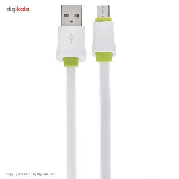 کابل تبدیل USB به microUSB الدینیو مدل LS01 طول 2 متر main 1 1