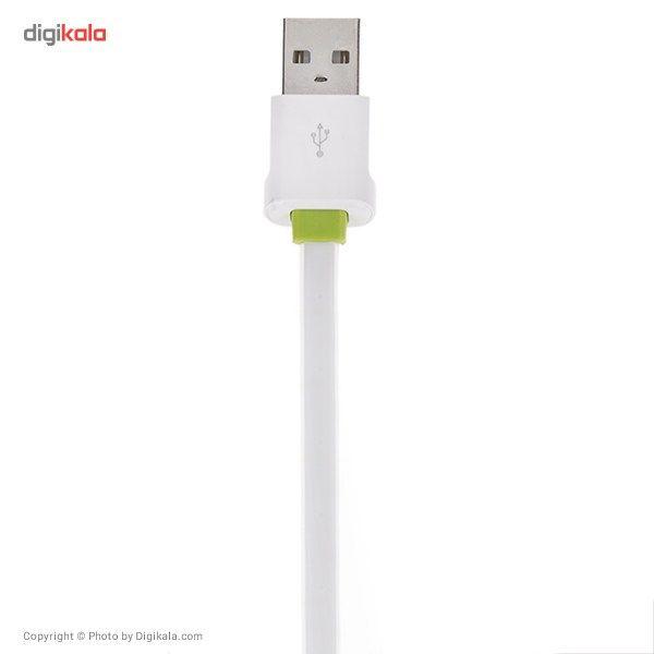 کابل تبدیل USB به microUSB الدینیو مدل LS01 طول 2 متر main 1 2