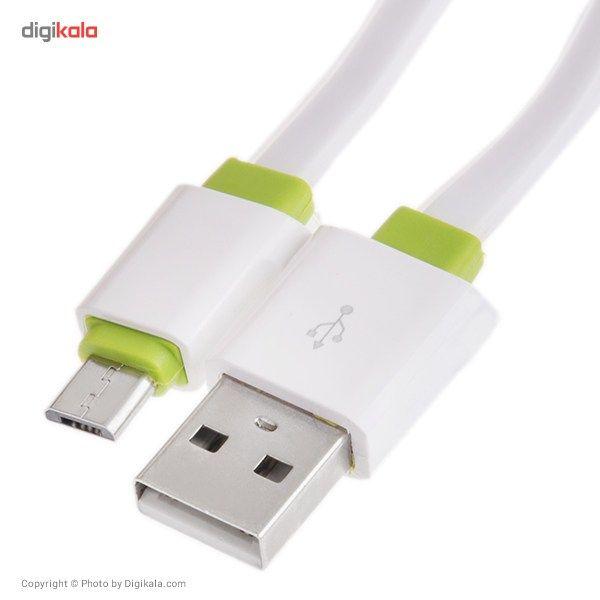 کابل تبدیل USB به microUSB الدینیو مدل LS01 طول 2 متر main 1 4
