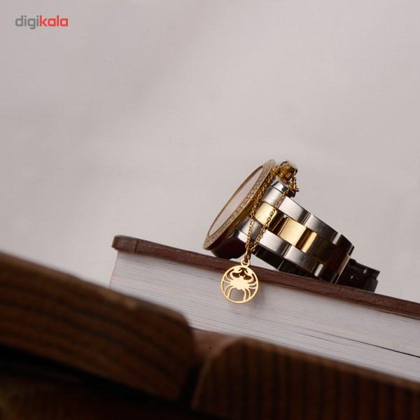 آویز ساعت طلا 18 عیار شانا مدل WSG14