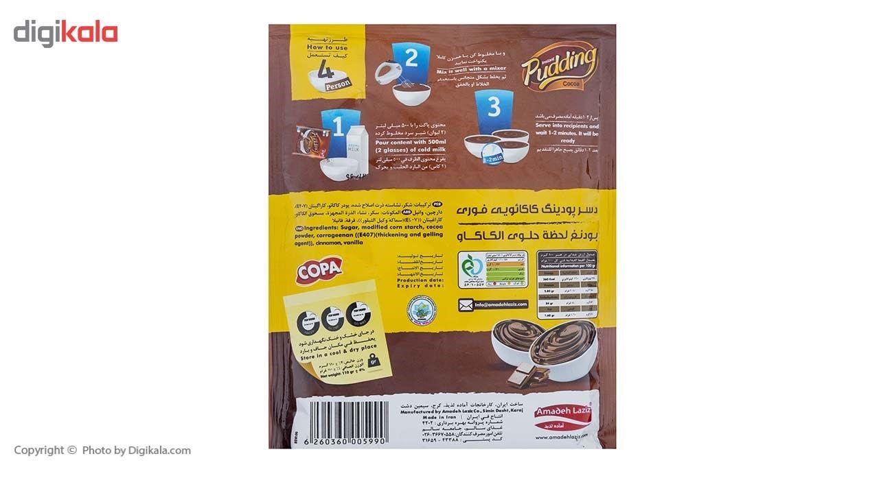 پودر پودینگ کاکائویی  فوری کوپا مقدار 110 گرم main 1 2