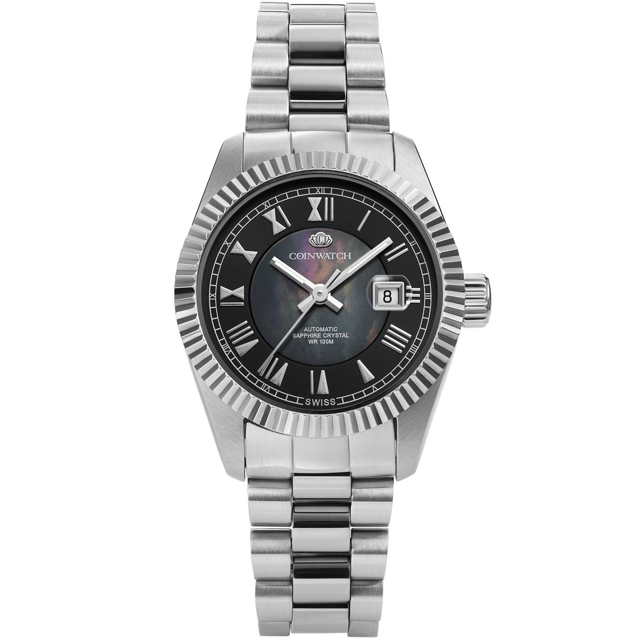 خرید ساعت مچی عقربه ای زنانه کوین واچ مدل C110SBK