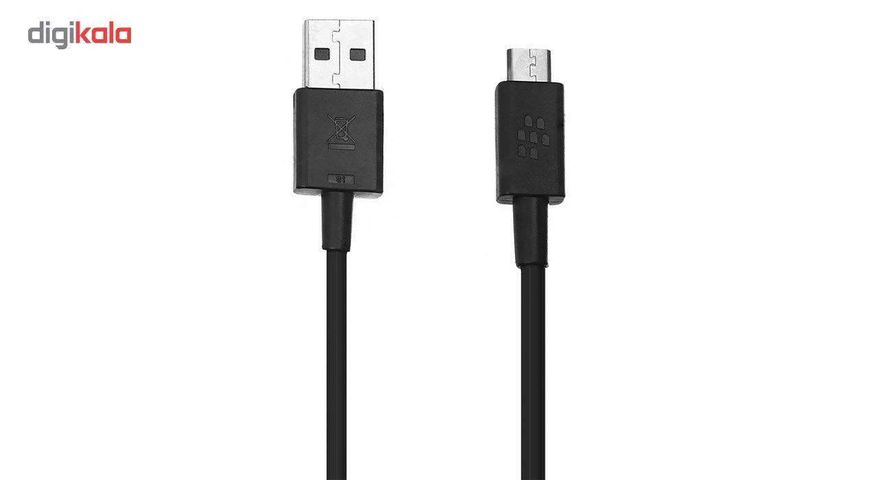 کابل تبدیل USB به microUSB بلک بری مدل ASY-28109-003 به طول 1.2 متر main 1 1