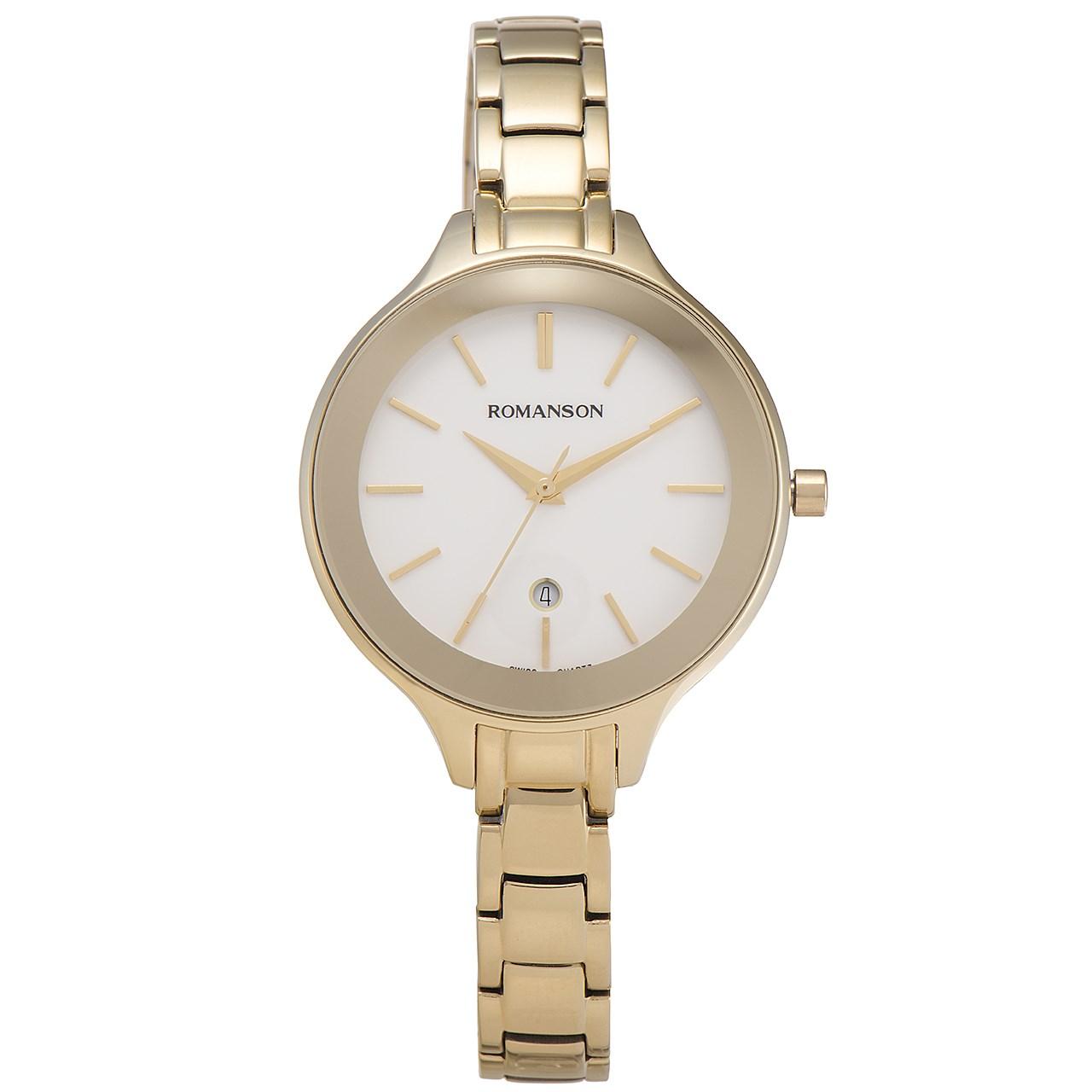 ساعت مچی عقربه ای زنانه رومانسون مدل RM4208LL1GA11G
