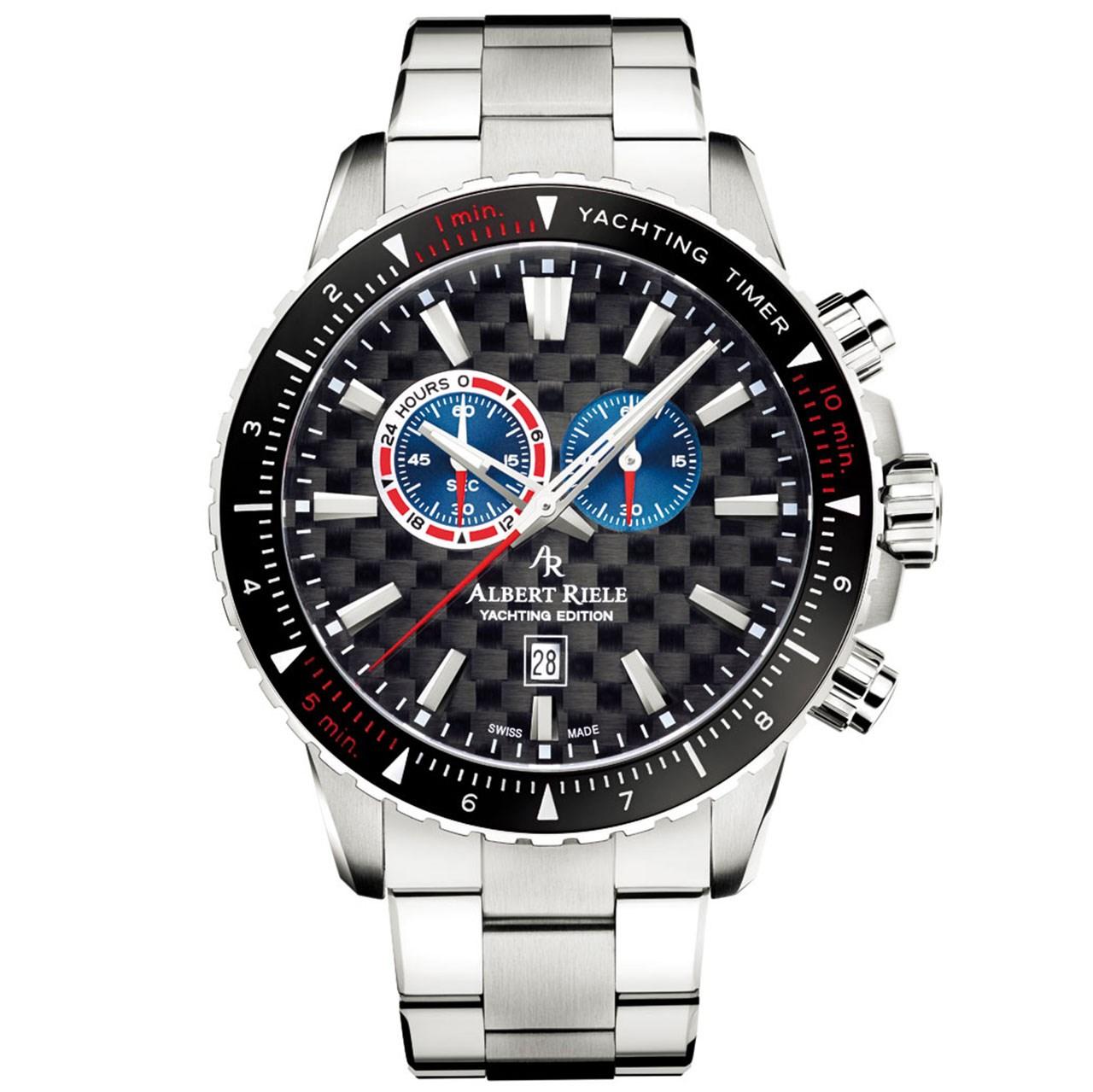 ساعت مچی عقربه ای مردانه آلبرت ریله مدل 431GQ20-SS16I-SS-K1 (تولید محدود)