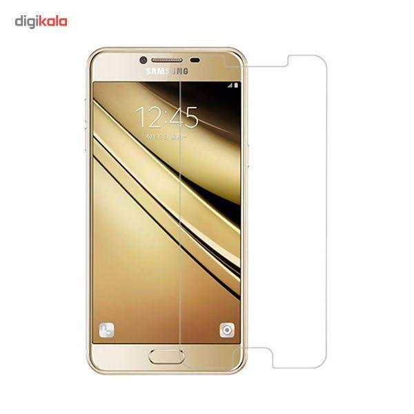 محافظ صفحه نمایش شیشه ای مدل Tempered مناسب برای گوشی موبایل سامسونگ Galaxy C5 main 1 1