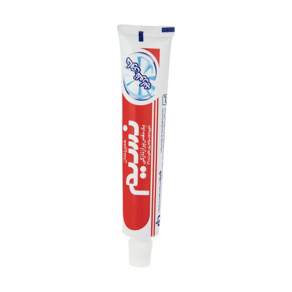 خمیر دندان نسیم مدل Feluoride Protection مقدار 80 گرم
