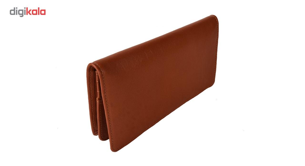 کیف پول چرمی کهن چرم مدل Lw2- 50
