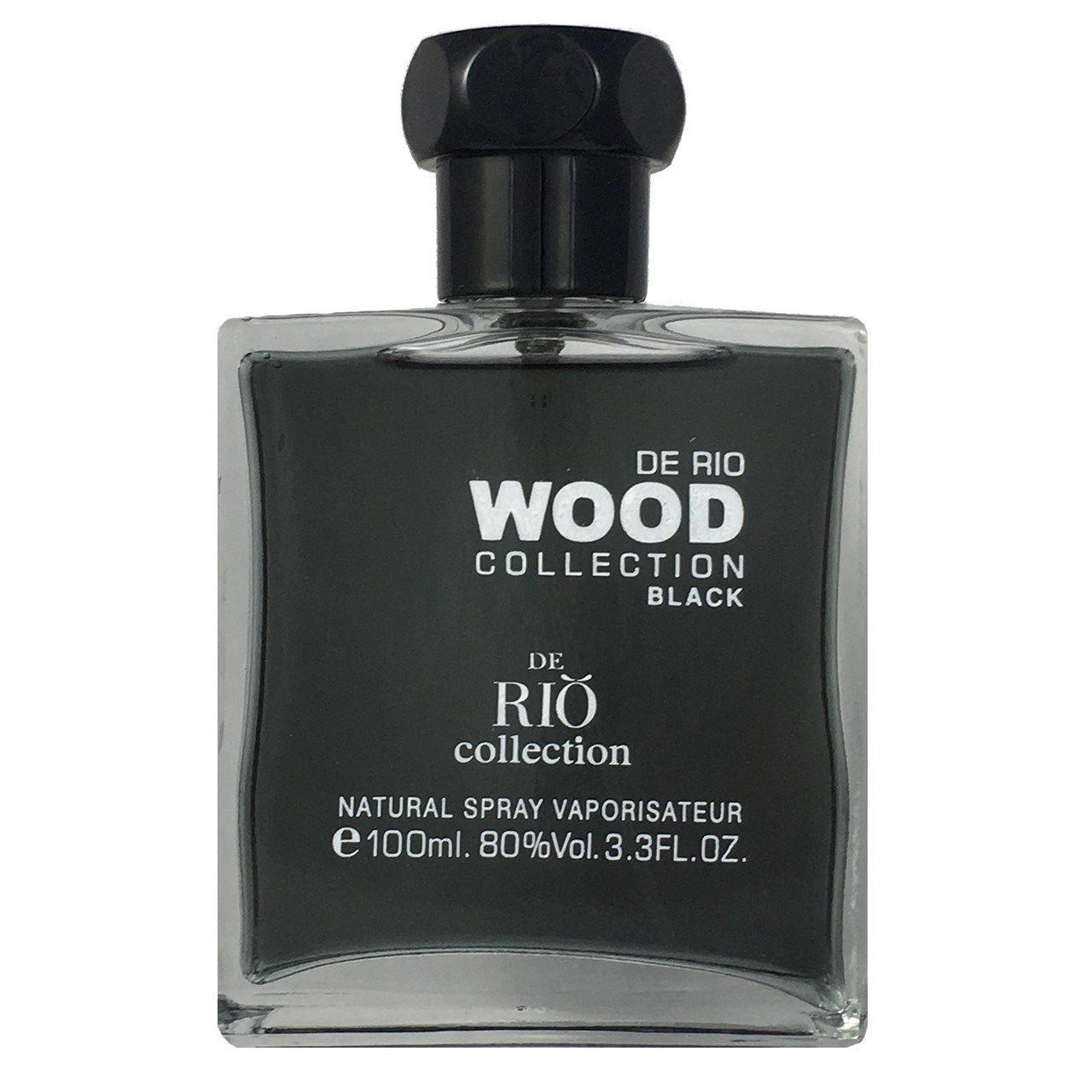ادو پرفیوم مردانه ریو کالکشن مدل Rio Wood Black حجم 100ml -  - 1