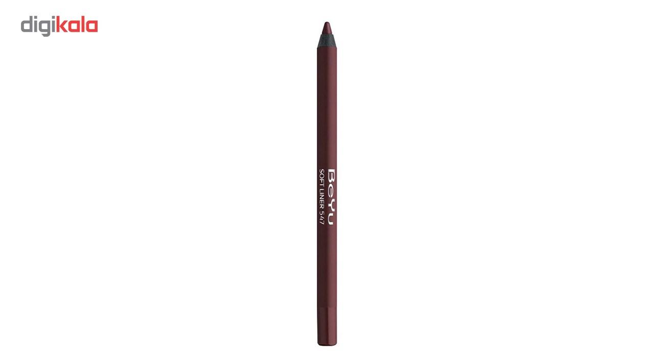 مداد لب بی یو سری Softline شماره 547 -  - 3