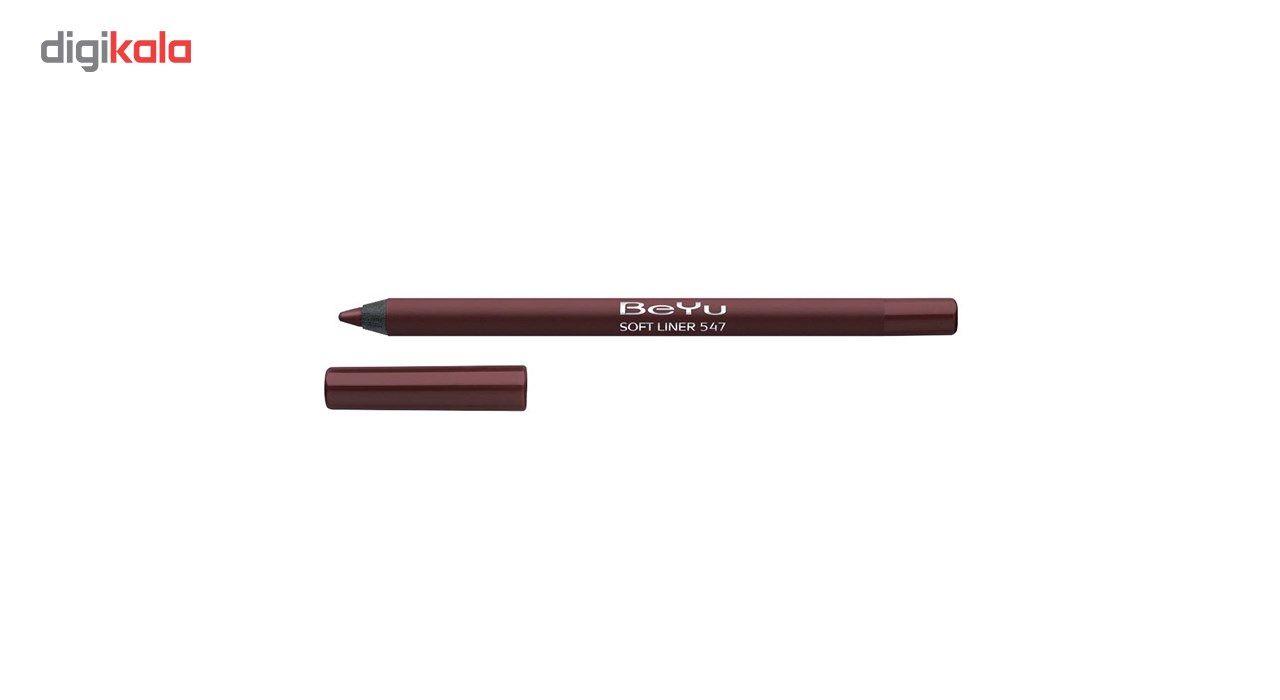 مداد لب بی یو سری Softline شماره 547 -  - 2
