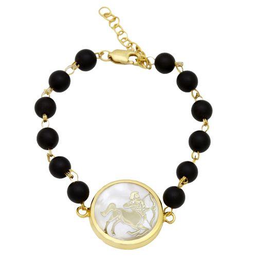دستبند طلا 18 عیار ماهک مدل MB0124