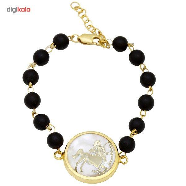 دستبند طلا 18 عیار ماهک مدل MB0124 - مایا ماهک -  - 1